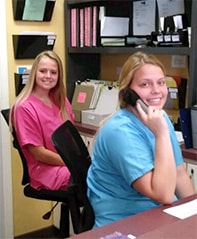 Friendly staff at Greer Chiropractic